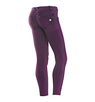 Freddy Wr.Up Panta Attack 7/8 Hose Damen, Purple/Fuchsia