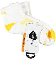 Get Fit Fitness L Bi-Pack Socken, Light Yellow