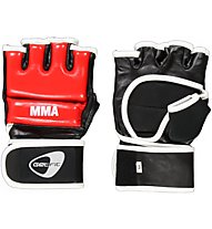 Get Fit Cowhide Leather Fit Box Gloves, Red/Black