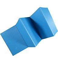 Get Fit Faltbare TPE-Gymnastikmatte, Blue