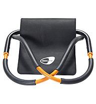 Get Fit Attrezzo Addominali Force Roller, Black/Orange