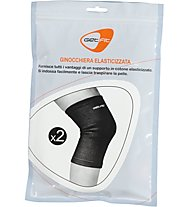 Get Fit Elastische Kniebandage (1 pair), Black