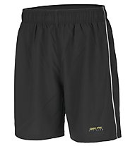 Get Fit Man Short Pant With Zip - kurze Fitnesshose Männer, Black