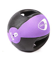 Get Fit Medicine ball 6KG, Black/Lilac