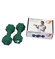 Get Fit Neoprene Dumbbell pesi, Dark Green