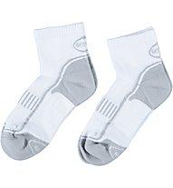 Get Fit Laufsocken Bi-Pack, White/Light Grey
