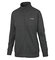 Get Fit Woman Sweater Full Zip Sweatshirt-Jacke Damen, Black