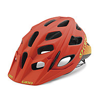Giro Hex, Matte Glowing Red/Highlight Yellow