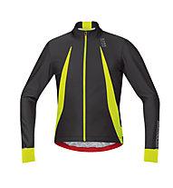 GORE BIKE WEAR Oxygen WS Jersey Long maglia bici manica lunga WINDSTOPPER, Neon