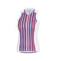 GORE BIKE WEAR Power SE Lady Jersey Top ciclismo Donna, Red/Blue/White