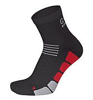 GORE BIKE WEAR Speed Socks mid Rennrad-Radsocken, Black/Red