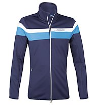 J.Lindeberg M Huxley Stripe Jacket, Navy/Purple