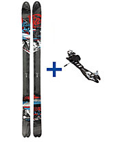 K2 Skis HardSide (2012/13) FR Set: Ski+Bindung