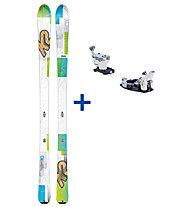 K2 Skis TalkBack 80 Set: Ski+Bindung