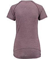 Kaikkialla Maaria Shirt Damen T-Shirt Kurzarm, Violet