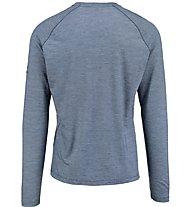Kaikkialla Martti Shirt Herren Shirt Langarm, Blue