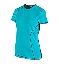 Kaikkialla Tea S/S Shirt Woman, Biscay Bay (Turquoise)