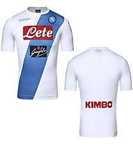 Kappa Seconda Maglia Replica Napoli - maglia calcio, White