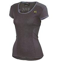 Karpos Path Projersey T-Shirt escursionismo Donna, Dark Grey