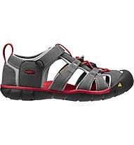 Keen Seacamp II CNX Kinder-Sandale, Magnet/Racing Red