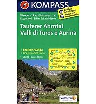 Kompass Karte Nr. 82 Tures/Valle Aurina / Taufers/Ahrntal 1:50.000, 1:50.000