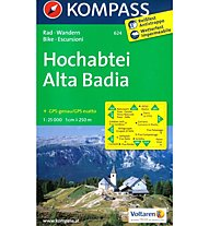 Kompass Karte N. 624 E Hochabtei / Alta Badia, 1:25.000