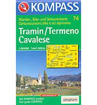 Kompass Carta N° 74 1:50.000, 1:50.000