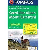 Kompass Carta Nr. 056 Monti Sarentini, 1:25.000