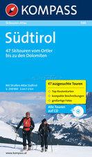 Attrezzatura > Carte topografiche / libri > Angolo dei libri >  Kompass Atlante scialpinismo Alto Adige