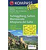 Kompass Carta Nr. 055 Monzoccolo - Altopiano del Salto, 1:25.000