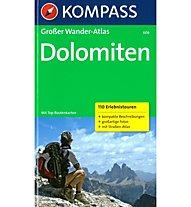 Kompass Wanderatlas Nr. 606 Dolomiten, Deutsch/Tedesco