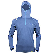 La Sportiva Stratosphere Hoody M maglia a maniche lunghe, Dark Sea Blue