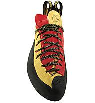 La Sportiva Testarossa - scarpetta arrampicata, Red/Yellow