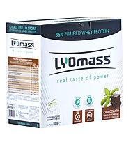 LYOmass LYOmass Protein-Nahrungsmittelergänzung 800g (20 x 40g), Chocolate