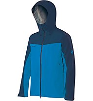 Mammut Crater Hs Hooded Giacca in GORE-TEX, Blue