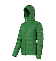 Mammut Miva Hooded Jacket Women, Eucalyptus