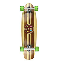 """Maui and Sons Skateboard Cruiser Bamboo Heritage 32"""" x 8,5"""", Heritage"""