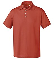Meru Herren Basic Polo Polo trekking, Orange