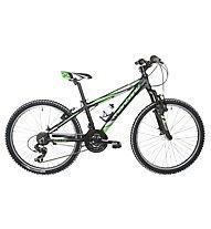 """Montana Spark 24"""", Black/Green Matt"""
