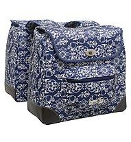 New Looxs Gepäckträgertasche Alba Double, Dark Blue