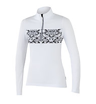 NDL Norvegia 11 240 Norwegerpullover/Skipullover für Damen, White