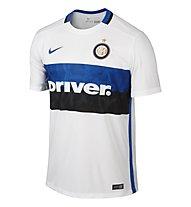 Nike 2015/16 Inter Milan Away Stadium - maglia calcio Inter Milan, Football White/Royal Blue
