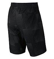 Nike Advance 15 Trainingsshorts Männer, Black/Metallic Silver