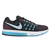 Nike Air Zoom Vomero 11 scara running donna, Black/Blue