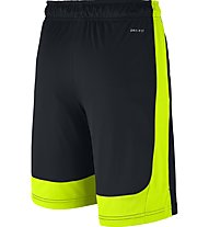 Nike Boys' Nike Dry Training Short - pantaloni corti ragazzo, Black/Volt