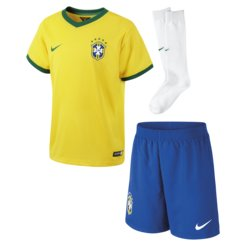 Nike CBF LT Brasilien Boys Home Kit