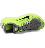 Nike Free 4.0 Flyknit W, Volt Light Charcoal