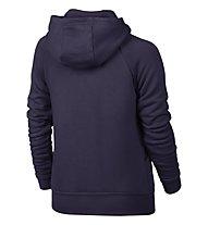 Nike Girls' Sportswear Modern Hoodie Sweatshirt Jacke Mädchen, Violett