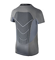 Nike Hypercool Fitted T-shirt ragazzi, Karbon Grey/Black