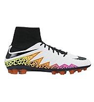 Nike Hypervenom Phatal II DF AG-R - Fußballschuhe (2016), White/Orange